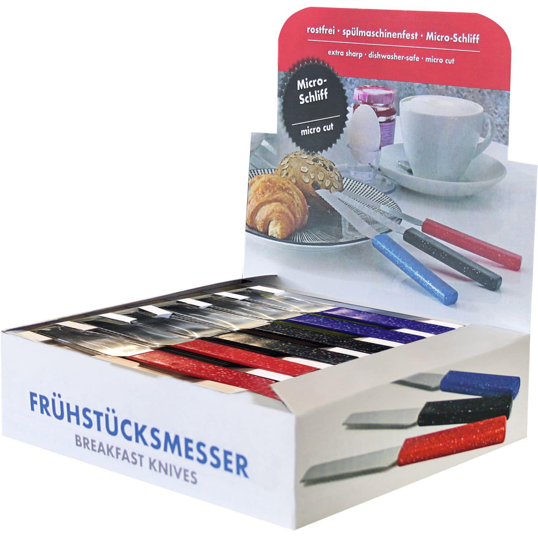 Thekendisplay Frühstücksmesser