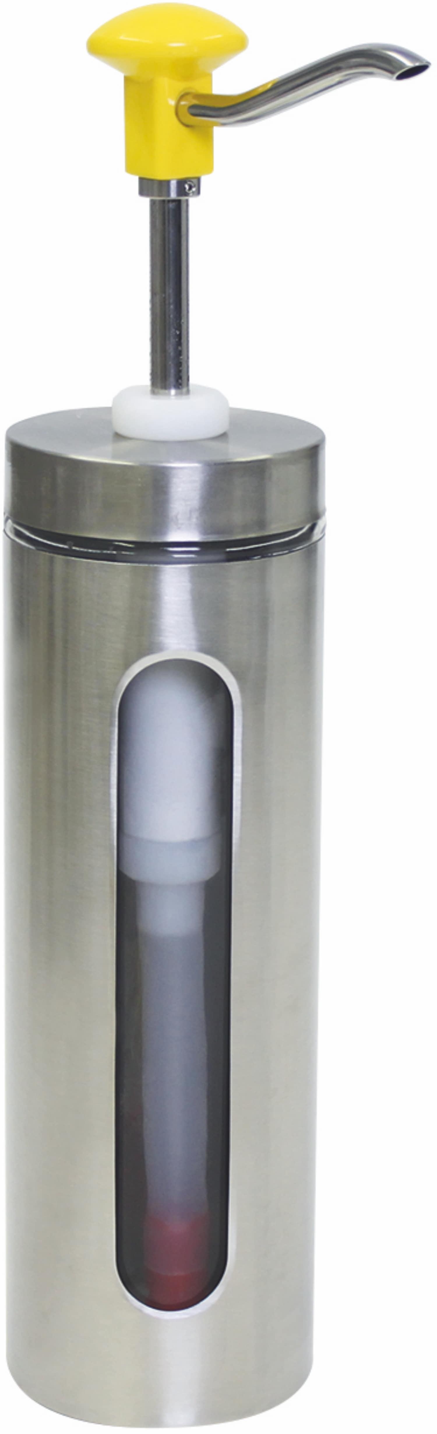 Druckknopf-Dosierspender Sichtfenster