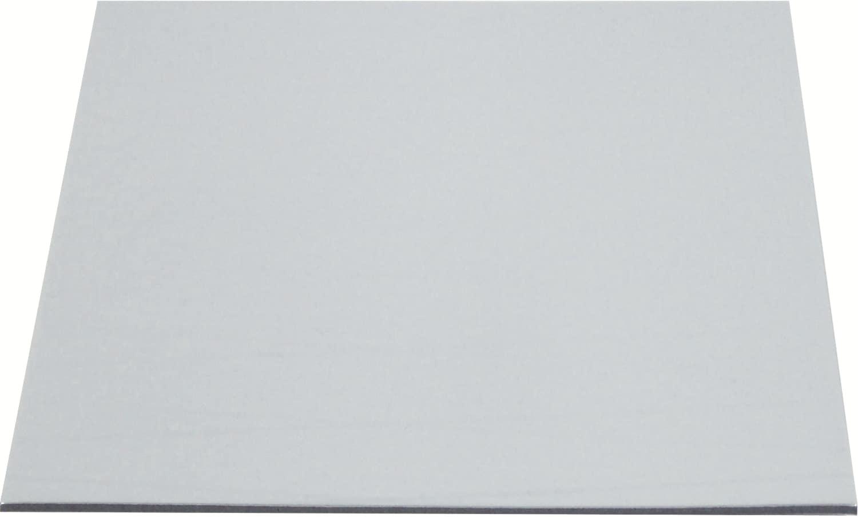 Tortenuntersetzer rechteckig silber