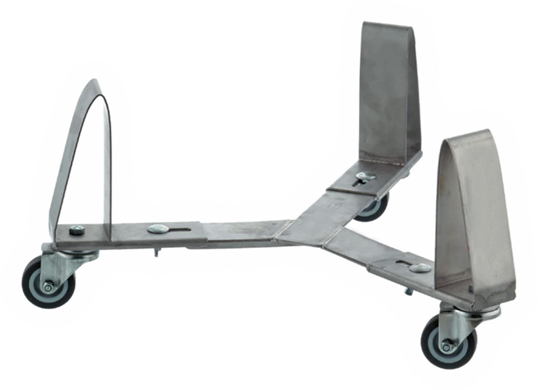 Fahrgestell verstellbar für runde Kübel