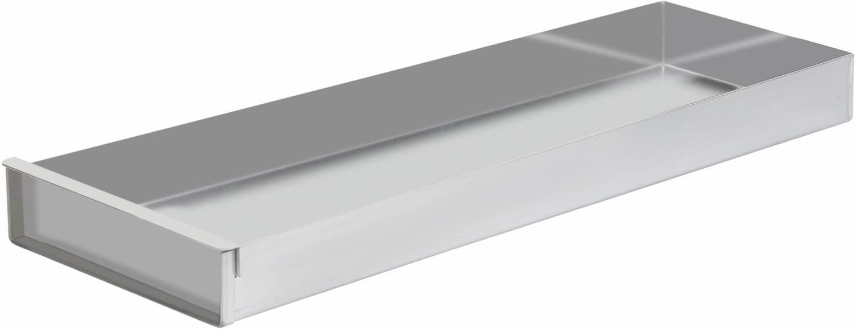 Schnittkuchenbleche mit Vorsatzschiene Aluminium
