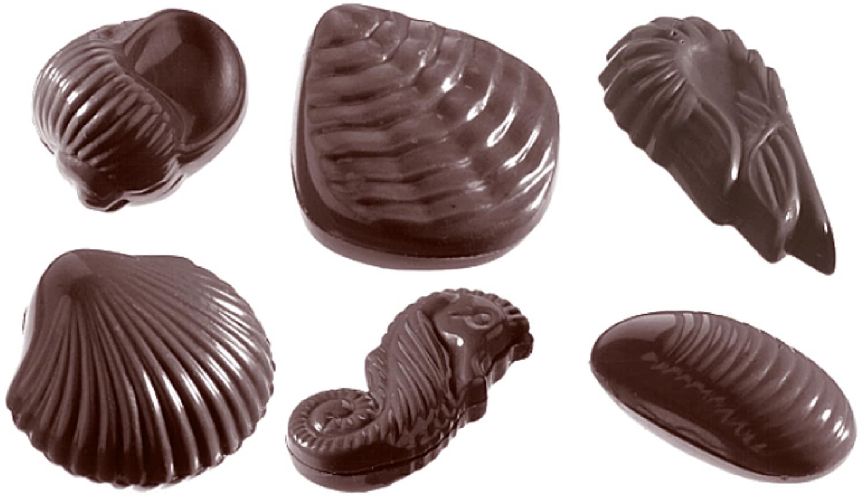 "Schokoladenform ""Meeresfrüchte"" 421586"
