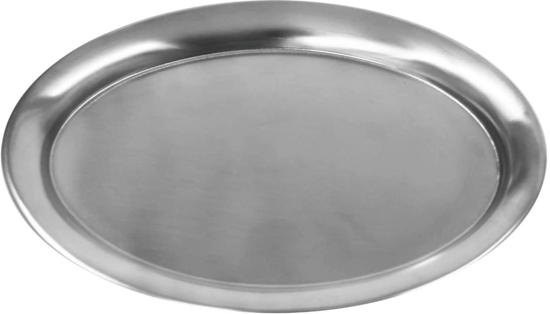 Serviertabletts oval Oberfläche matt
