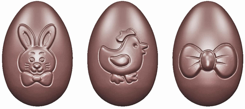 "Schokoladenform ""Ostereier"" 421664"