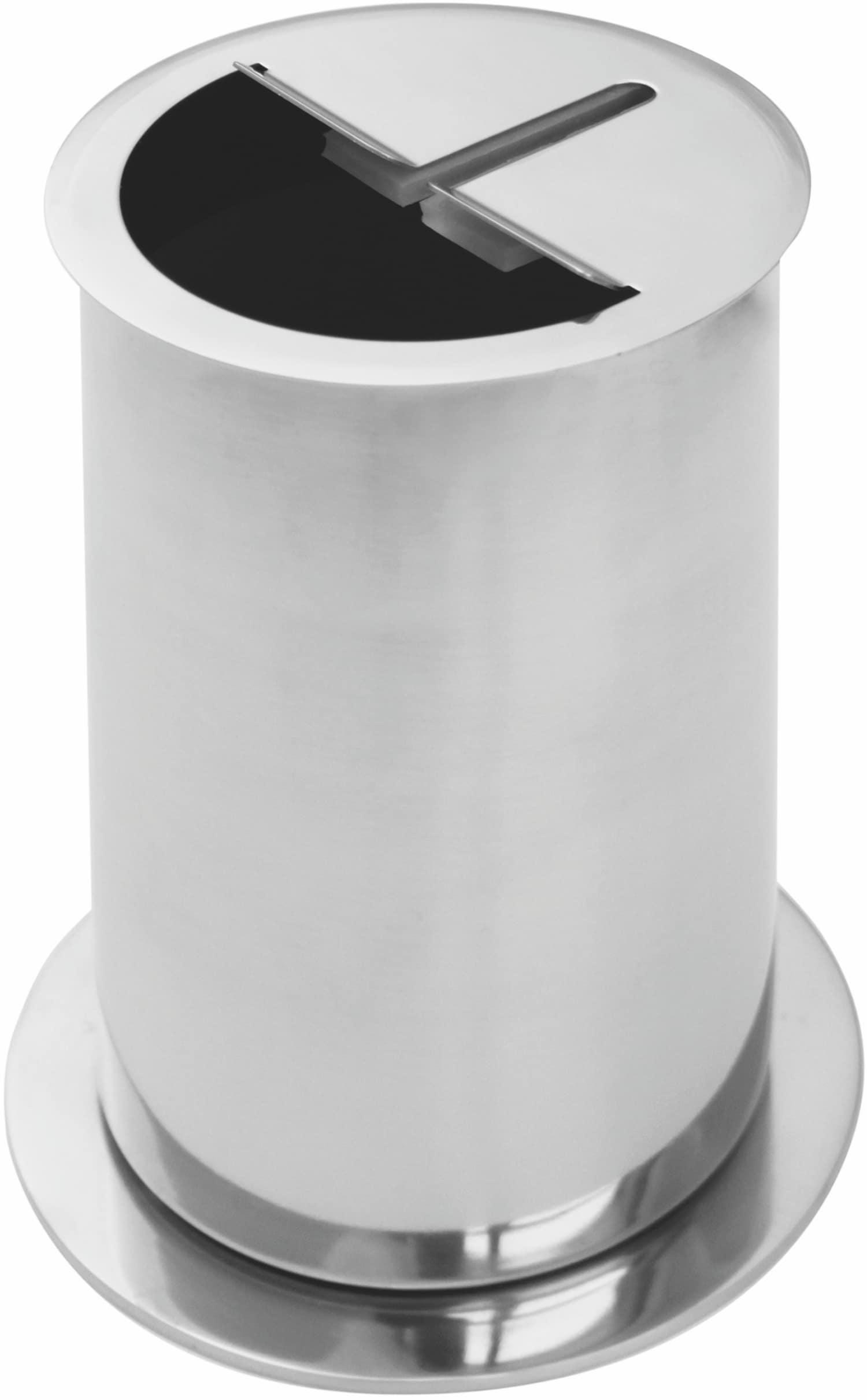 Messer-Abstreifbehälter Standgerät