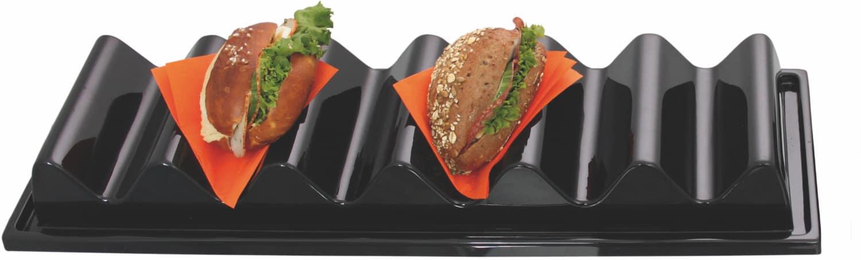 Snack-Verkaufsständer Wellenform