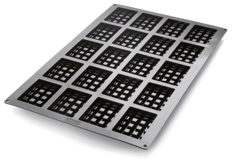 "Silikon-Backform ""Waffel"" 600 x 400 mm"