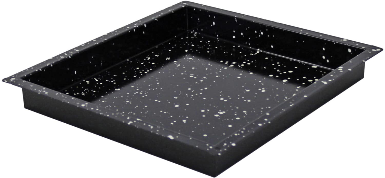 Konvektomatenblech GN2/3 Granit-Emaille