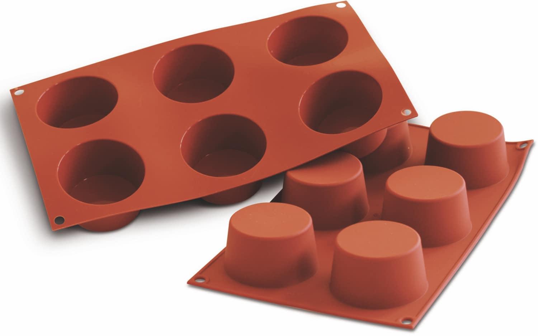 """Silikon-Backformen """"Muffin"""" 300 x 175 mm"""