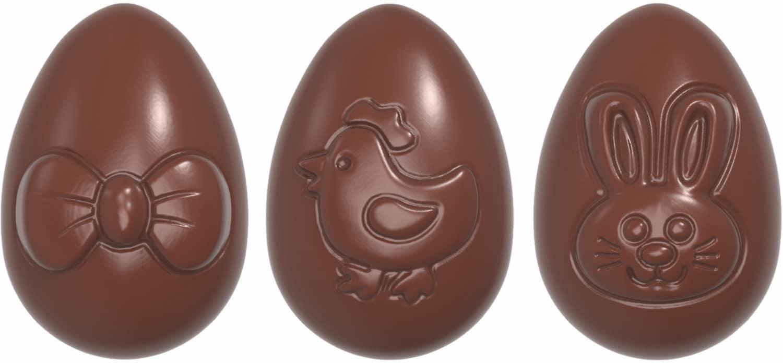 "Schokoladenform ""Ostereier"" 422395"