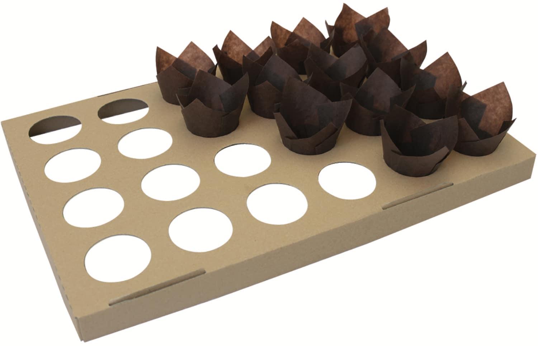 """Muffin-Formen-Verbund für """"Tulpe"""" 122260"""